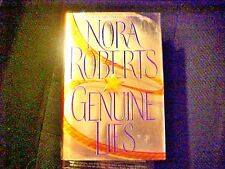 Genuine Lies by Nora Roberts (1998, Hardcover) Book Novel Fiction Literature