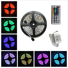 5M SMD RGB 5050 Waterproof LED Strip light 300 44 Key IR Remote Controller