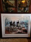 """Mark King Limited Edition Serigraph. Martin Lawrence Gallery 1987 52""""x44""""  74/75"""