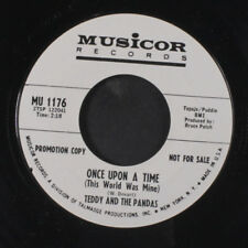 TEDDY & PANDAS: Once Upon A Time / Out The Window 45 (dj) Rock & Pop