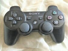 Official Playstation 3 DualShock 3 Sixaxis Black Wireless Controller Sony PS3 –