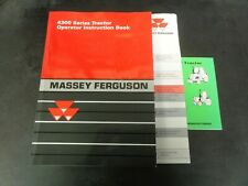 Massey Ferguson 4300 Series Tractor Operator Instruction Book Manual  2002
