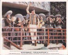 FUN IN ACAPULCO ELVIS PRESLEY ORIGINAL LOBBY CARD RARE DANCING MEXICAN SINGERS