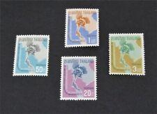 nystamps Thailand Stamp # 436-439 Mint Og Nh $25 U4y1158