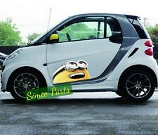 1 x Side Door Cute Despicable Me Minions Car Stickers Auto Decal for All Cars