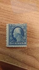 1909 Rare Unused George Washington Blue 5 Cent Stamp