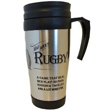 The Ultimate Gift for Man Mad About Rugby Travel Mug SARTMG06