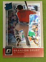 D45 2016 Donruss Optic #62 Brandon Drury RR RC Arizona Diamondbacks