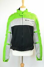 Kawasaki Motorcycle Jacket With Removable Armour And Inside Lining S Small
