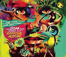ONE LOVE ONE Rhythm Oficial 2014 FIFA WORLD CUP Cd Álbum nuevo SHAKIRA J