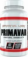 Primeval Labs Primavar 125mg - 60 Capsules super laxo LAXOGENIN FREE POST
