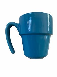 Royal Norfolk Mug blue Stacking Open Handle Coffee Cup