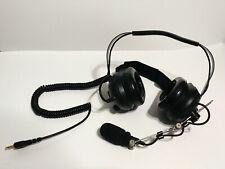 Radioshack Scanner Headset 2000550 Headphones For Pro-444 Scanner Black OTE