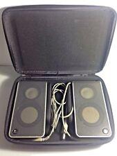 Logitech Usb Speaker V20 M/n S-0155a With Cover Case