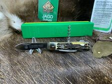 1994 Vintage Puma 959 Jagdmesser Knife With Nice Stag Handles With Puma Pouch