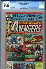 Marvel Avengers Annual #10 CGC 9.6 1st Rogue