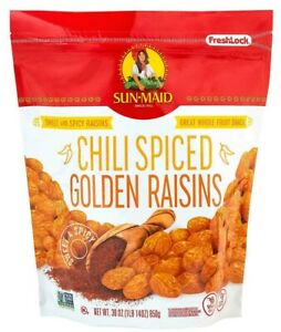 Sun-Maid Chili Spiced Golden Raisins 30 oz