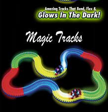 Electric Car Race Track 165 PCS Magic Assembling Glow In The Dark For Kids new