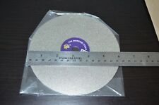 "Diamond coated 6"" inch Flat Lap wheel Lapidary polishing disc"