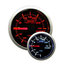 Prosport 52mm (2 1/16) Performance Series Mechanical Boost Gauge (Amber / White)