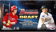 2016 Bowman Draft Baseball Hobby Jumbo Pack 8 Box Factory Sealed Case (24 Autos)