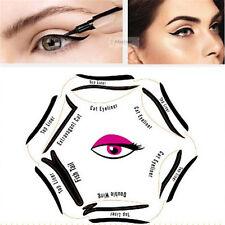 Wing Beauty Women Eyebrows Stencils Makeup Eyeliner Card DIY Tool Template