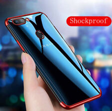 Luxury Plating Shockproof Soft Cover Case Skin For OPPO R15 F7 A83 R9 Plus R11