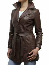 Leather Outdoor Regular Size Coats & Jackets for Women