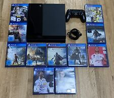 Sony PlayStation 4 500GB Konsole - Schwarz inkl. Controller & 11 Spiele | 1 TAG!