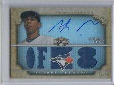 2013 TOPPS TRIPLE THREADS ANTHONY GOSE ROOKIE JERSEY ON CARD AUTOGRAPH AUTO #D99