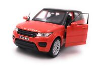 Range Rover Model Car With Desired License Plate Sport SUV Orange Scale 1:3 4-39