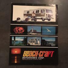 PUB BEACH-CRAFT MOTORHOMES CORP