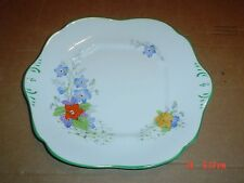 Paladin China E Hughes & Co England Cake or Biscuit Plate Art Deco Circa 1930's