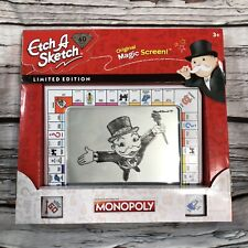 Etch A Sketch Monopoly Edition 60th Anniversary Limited Edition Hasbro