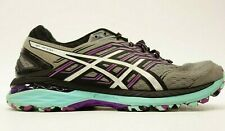 Asics GT-2000 5 Womens Gray Athletic Running Cross-Training Shoes US 8.5 EU 40