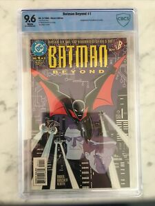 Batman Beyond #1 🦇 NM+ 9.6 Direct Edition Terry McGinnis 1st appearance!