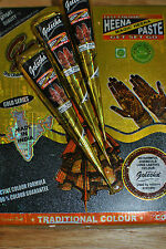 3 X  HENNA CONE / PEN.MEHANDI BLACK PASTE. INDIAN TOP QUAILITY.UK STOCK.