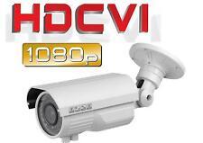 8 PCS HD CVI/TVI/AHD 1080P Weather-Proof Bullet Camera 2MP Varifocal 2.8~12mm