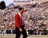 VINCE DOOLEY SIGNED AUTOGRAPHED 8x10 PHOTO GEORGIA FOOTBALL COACH BECKETT BAS