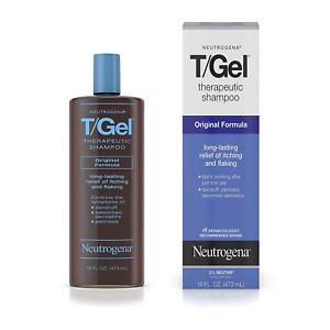 Neutrogena T/Gel Therapeutic Shampoo Original Formula, Anti-Dandruff Treatment a