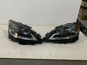 Genuine Lexus LS LS460 LS600 Led Hid Xenon Headlight Set 2014-2017