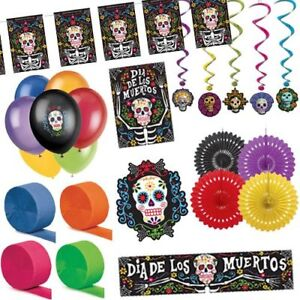 DAY OF THE DEAD DECORATION PACK - Spooky Halloween Party Decorations