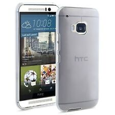 TPU Gel iskin Jelly Case Cover for HTC One M9 - Translucent Clear
