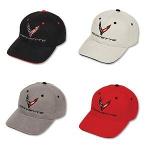 C8 Corvette Structured Contrast Cotton Hat