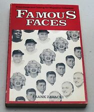 FAMOUS FACES Price Guide Catalog Magazine Collectors by Frank Zawacki 1985