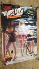 Vintage Miller Genuine Draft \u2018Cold Filtered Is Hot\u2019 1980s Beer Poster Original