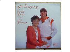 CAROLE GORDON & BOB NEWMAN * NO STOPPING * SIGNED VINYL LP TOGETHER X86T003