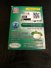 Nicotine Lozenges 2 mg Mint 72 Lozenges Exp. 09/2020+ free USA shipping