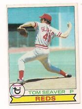 1979 Topps HOF Tom Seaver Cincinnati Reds #100