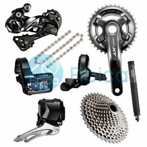 New Shimano Deore XT Di2 M8050 M8000 22-speed Full Group Groupset 170/175mm